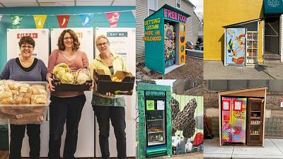 Community fridges are becoming global solution to food waste and food insecurity