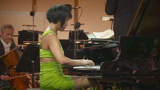 Yuja Wang embraces Mozart's darker piano concerto