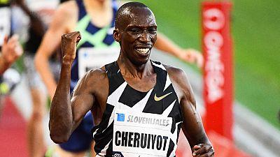 Kenya : le champion du monde Timothy Cheruiyot ira bien à Tokyo