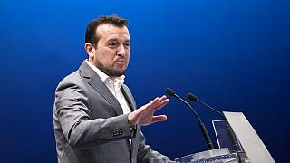 Greek Minister of Digital Policy Nikos Pappas