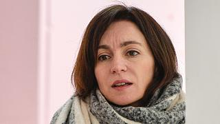 H πρόεδρος της Μολδαβίας στο euronews