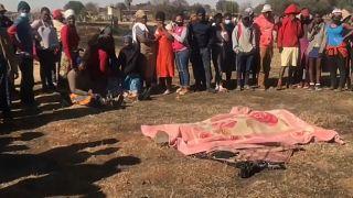 Afrique du Sud : des proches de victimes inconsolables