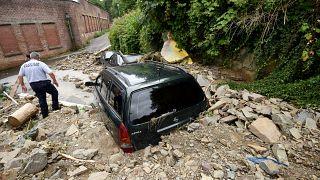 فيضانات غمرت مساحات شاسعة من غرب ألمانيا. 15/07/2021