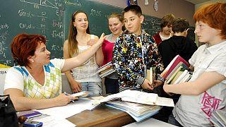 Iskola Lettországban