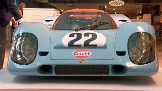 سيارة بورشيه ظهرت في فيلم ستيف ماكوين لو مان