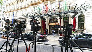گراند هتل وین، محل برگزاری مذاکرات میان ایران و ۵ عضو برجام