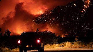 Kanada'nın  Lytton bölgesinde temmuz başında görülen yangınlar