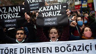 Bogaziçi Üniversitesi protestoları, 2 Şubat 2021, İstanbul