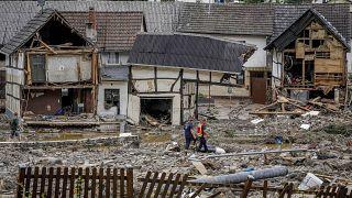Flutschäden in Schuld, Rheinland-Pfalz