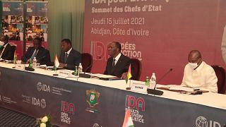 African leaders mobilize vaccines, finance at Abidjan summit