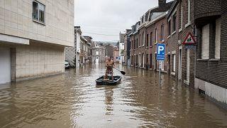 في أحد شوارع لياج بلجيكية