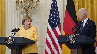 Merkel da Biden: disaccordo sul gasdotto Nord Stream 2