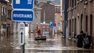 سیل در بلژیک