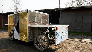 Sebstgebautes Solarfahrzeug eines 23-Jährigen aus Russland