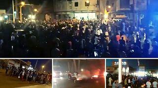 تظاهرات در شهرهای استان خوزستان