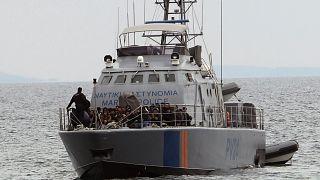 Kıbrıs açıklarında Avrupa Birliği Sınır Güvenliği Ajansı Frontex'e ait bir tekne