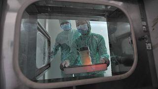 Çin'in Hubei bölgesindeki Wuhan laboratuvarı