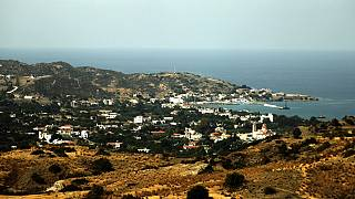 In this file photo taken on October 14, 2010 shows the Greek-Cypriot resort of Kato Pyrgos on the island's northwest coast.