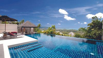 Views from a bookable Pavilion residence in Phuket, Thailand