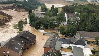 Imagem da cidade de Erftstadt, fornecida pelas autoridades do distrito de Colónia