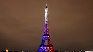 برج إيفل في مدينة باريس، فرنسا
