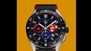 Tag Hauer'in Süper Mario temalı kol saati.