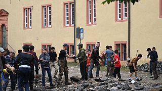 Bewohner von Bad Münstereifel packen gemeinsam an