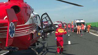 Accidente de tráfico en Rumanía deja 17 heridos