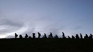 عبور مهاجران از مرز اتریش و آلمان
