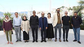 عوامل فیلم قهرمان در جشنواره کن ۲۰۲۱