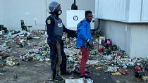 Clashes as looters make a last ditch effort to empty Durban warehouse storing alcohol