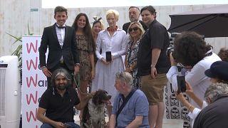 الممثلة البريطانية تيلدا سوينتون