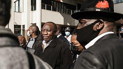 """Afrique du Sud : Cyril Ramaphosa dénonce une """"tentative d'insurrection"""""""