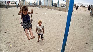 Kinder im Lager al-Hol in Syrien - ARCHIV