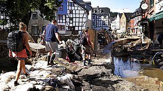 Las inundaciones van remitiendo y el número de víctimas aumentando en el oeste de Alemania