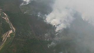 La Siberia va a fuoco. Distrutti quasi un milione di ettari di bosco