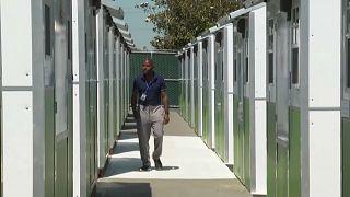 بيوت صغيرة جداً في لوس أنجليس تؤوي المشردين موقتا
