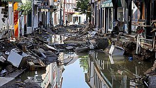 Bad Münstereifel nach dem Hochwasser