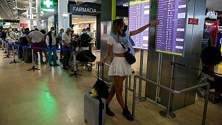 Százával törölték a portugál repülőjáratokat