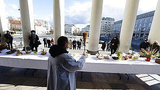 Húsvét a St. Alexandra templomban, Varsóban