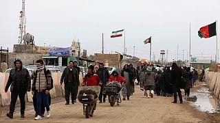 مرز ایران و افغانستان