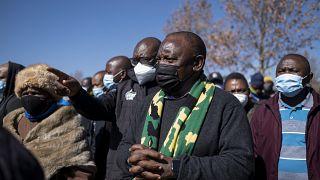 """Ramaphosa : """"La défense de notre démocratie entre les mains du peuple"""""""