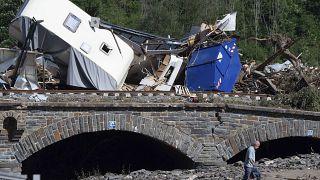 Масштабные разрушения в Германии