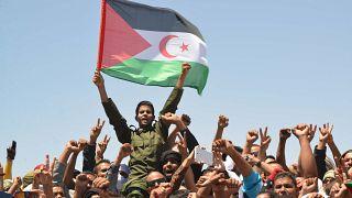 مؤيدون لجبهة البوليساريو في الجزائر (أرشيف)