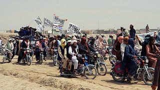 طالبان در مرز افغانستان و پاکستان