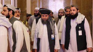 Teilnehmer der Verhandlungen in Doha