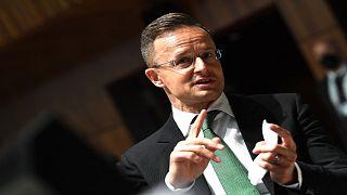 وزير الخارجية المجري بيتر سيارتو