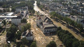 Les dégâts causés par les inondations en Allemagne