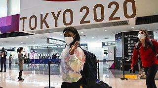 Simone Biles llega a Tokio 2020