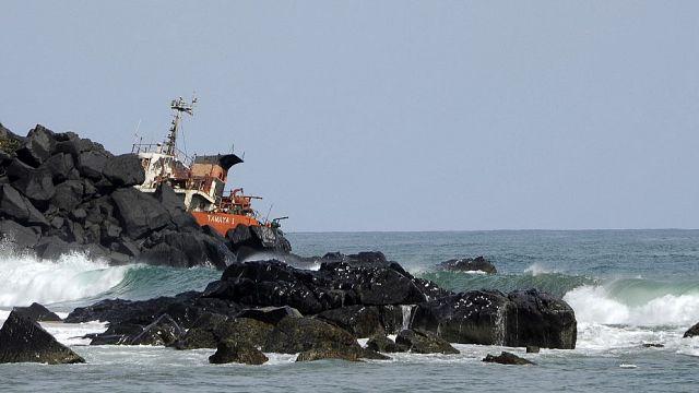 Liberia : au moins 15 disparus après le naufrage du Niko Ivanka